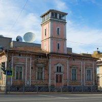 Старая пожарная каланча в Сортавале :: Владимир Лазарев