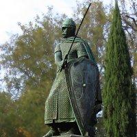 памятник первому королю Португалии — Афонсу Первому :: ИРЭН@ Комарова