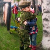 Защитник. Он воспитывается с детства! :: Виктор Никаноров