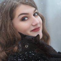 Портрет с котом :: Маргарита Гусева