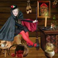 Маленькая ведьма :: Алёна Мацюк