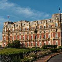 Биарриц. Hotel du Palais (отель дю Пале) :: Надежда Лаптева