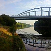 Мост в Серебряный Бор. :: Андрей Анатольевичъ