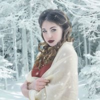 Зимнее утро в лесу :: Kristina Ipatova