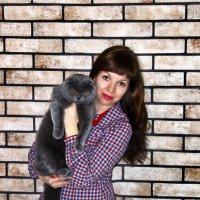 Лиля с любимцем) :: Лилия Масло