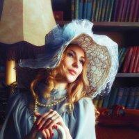 Дама с зонтом :: Олег Лопухов