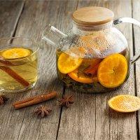 Мандариновый чай :: Ирина Лепнёва
