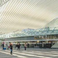 Железнодорожный вокзал в Льеже, Бельгия :: MVMarina