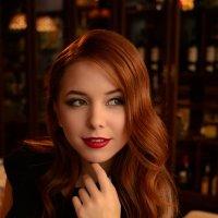 Алина в Ресторане Шамони Монблан :: Кристина Милославская