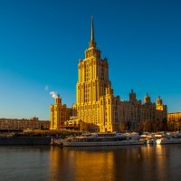 Московская открытка. Отель Рэдиссон Украина. :: Alexander Petrukhin