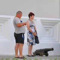 Урок баллистики... или...  Забил снаряд я в пушку туго... :: Дмитрий Олегович