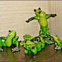 И лягушата радуются весне! :: Надежда