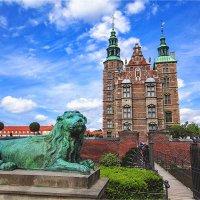 Замок Розенборг - бывшая резиденция датских королей в Копенгагене :: Ирина Лепнёва