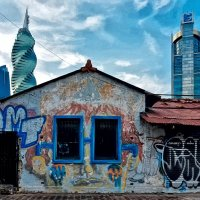 Панама Сити, город контрастов :: Alexander Dementev