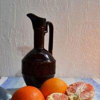 Натюрморт с апельсинами :: Анатолий