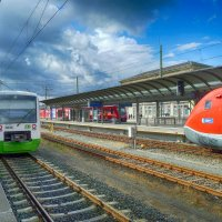 Баварские железные дороги :: Евгений Кривошеев
