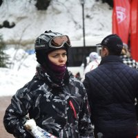 Спортсменка... :: Дмитрий Петренко