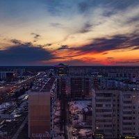 Тобольск.Закат. :: Андрей Леднев