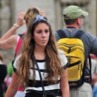 Молодая парижанка :: Валерий Подорожный