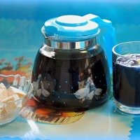 А любите ли вы синий тайский чай анчан? :: Андрей Заломленков