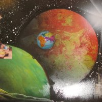 "Космический крутоболл из книги Константина Крутенко ""Японский крутоболл-1"" :: Алекс Аро Аро"