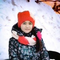 Зимний портрет :: Айнагуль Бекебаева