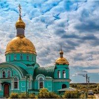 """Храм в селе """"Оленёвка"""" пенз.обл. :: Андрей Козлов"""