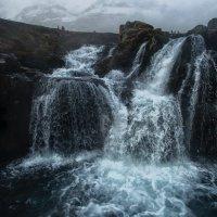 Водопад Kirkjufellfoss с воздуха :: Alex Mimo