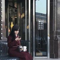 Lady in claret :: Лариса Журавлева