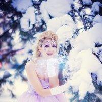 Снежный поцелуй :: Наталья Долотова
