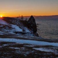 Закат на МАлом море :: Анатолий Иргл