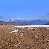 Село на берегах реки :: Анатолий Иргл