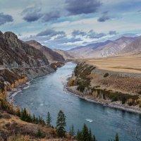 Река и дорога :: Виктор Четошников