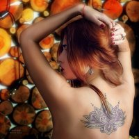 Татуировка :: Ирина Малина