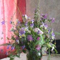 Букет в фиолетово-сиреневых тонах :: Лада Петрова