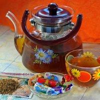 Дегустируем чай с османтусом :: Андрей Заломленков