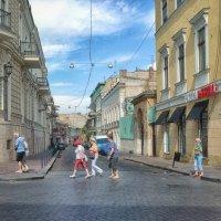 Туристы, шумною толпой... :: Вахтанг Хантадзе