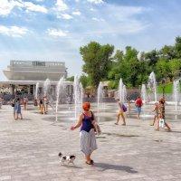 Летний день на Ланжероне. :: Вахтанг Хантадзе