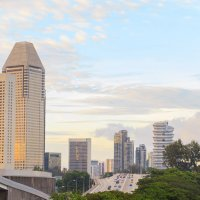 Сингапур перед закатом :: Ирина Kачевская
