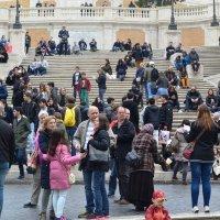 Испанская площадь в Риме :: Tamariks Barhotki