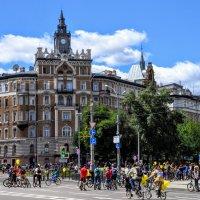 Сбор участников велопарада :: Анатолий Колосов