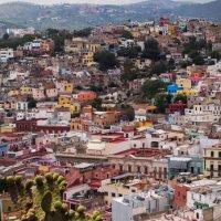 панорама города Гуанахуато :: Светлана Гусельникова