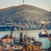 Где-то в порту... :: Арина