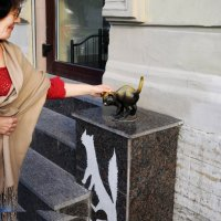 Санкт-Петербург,вход в музей кошек :: Вячеслав