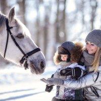 серебряная зима :: Любовь Б