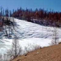Ледник на склоне :: Анатолий Иргл