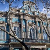 Фронтон дворца графа А.А.Абазы, 1856-1858 г.г. архитектор Людвиг Оттон :: Вахтанг Хантадзе