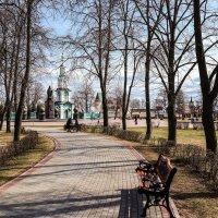 Весенний парк................. :: Александр Селезнев
