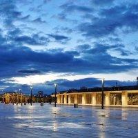 Стадион фк Краснодар в сумерках :: Андрей Майоров