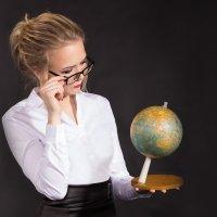 Учитель географии... :: Елена Князева